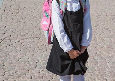 Schülerin in Taschkent