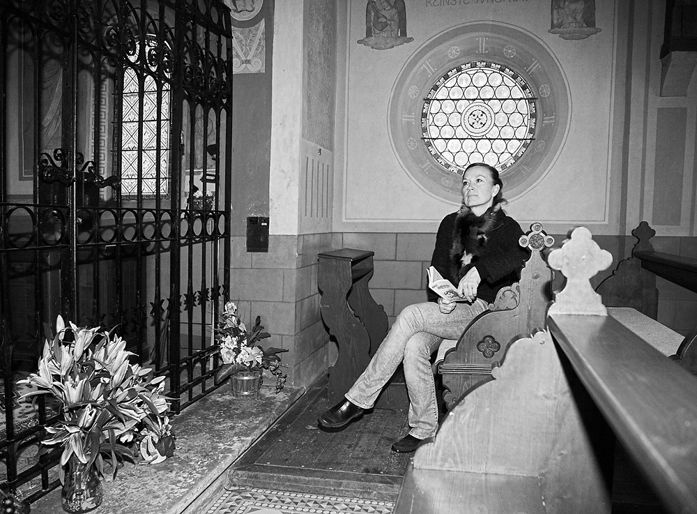 Privat: Ruhepause in der Kapelle Maria Buch