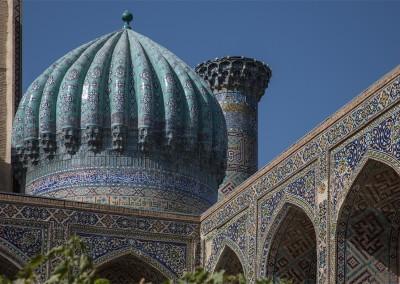 Kuppel der Medrese Schir Dar