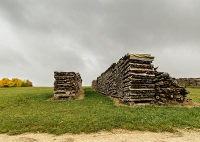 Holzstöße bei Donnstetten (1)