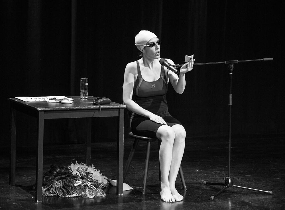 Christine Prayon, Schauspielerin und Kabarettinstin
