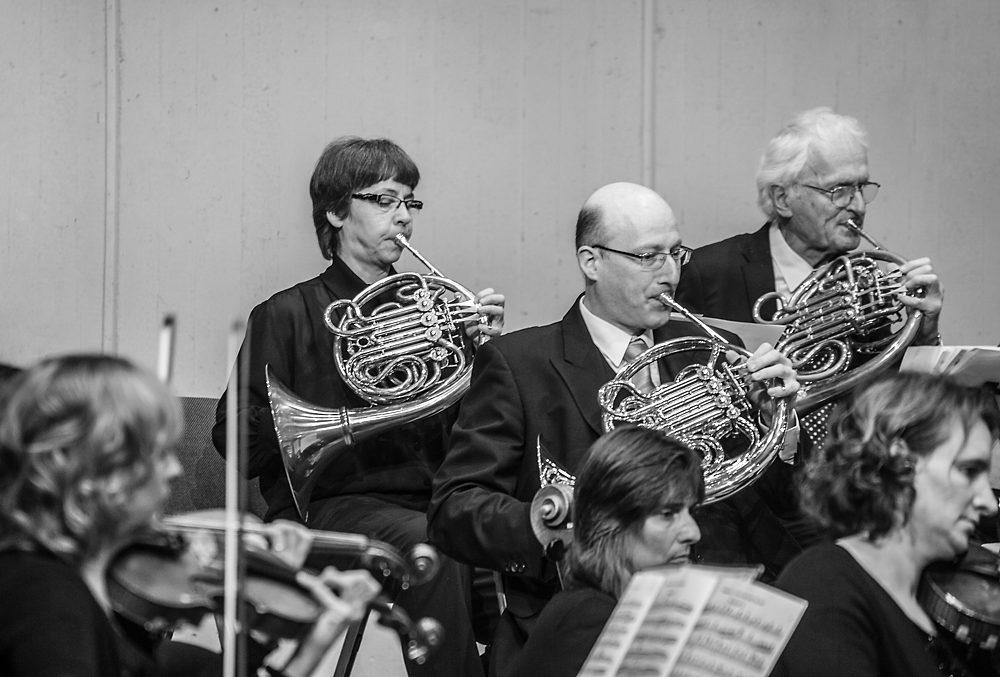 Privat spielt sie im Orchester Waldhorn