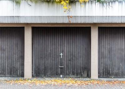 Garagen im Herbst