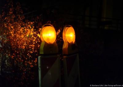 Baustellenlichter