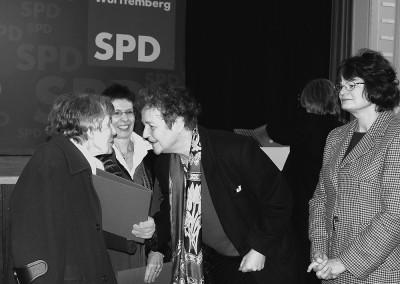 Prof.Dr.Herta Däubler-Gmelin, MdB, Bundesminiterin a.D.: Glückwünsche für eine 90-jährige SPD-Genossin
