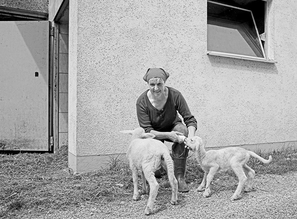 Gerlinde S., Bäuerin