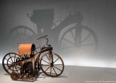Der Daimler Reitwagen: Das erste Motorrad