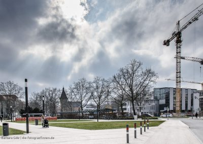 Vor dem Tübinger Tor in Reutlingen