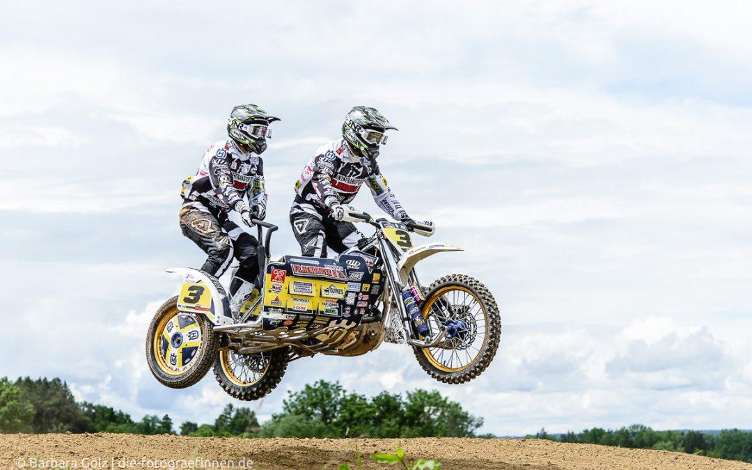 54. Internationaler Reutlinger ADAC Motocross - DM Seitenwagen (Sidecar)
