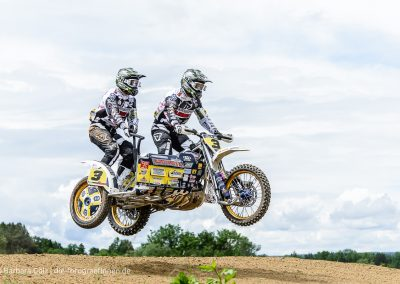 54. Internationaler Reutlinger ADAC Motocross - DM Seitenwagen (Sidecar)