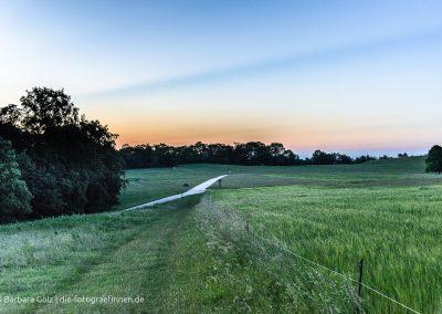 Sonnenuntergang am Rossfeld