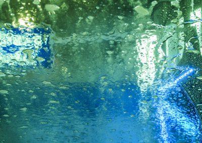 Wasser - grün/blau