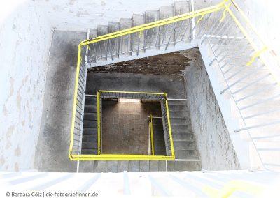 Treppenhaus, viereckig