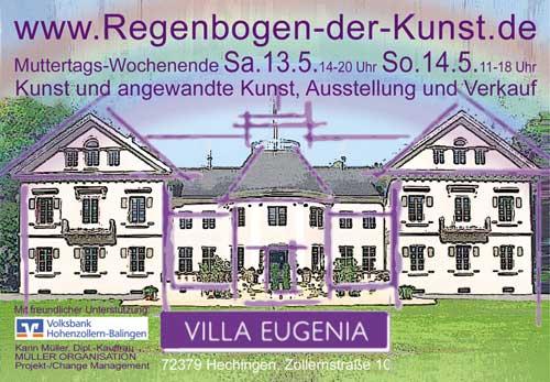 Bilder von Barbara sind gemeinsam mit Werken von 19 Künstlerinnen in der Villa Eugenia in Hechingen zu sehen.