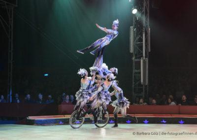 Fahrrad-Artistik aus China (1)