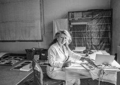 Sigrid A., freischaffende Künstlerin und Kalligraphin