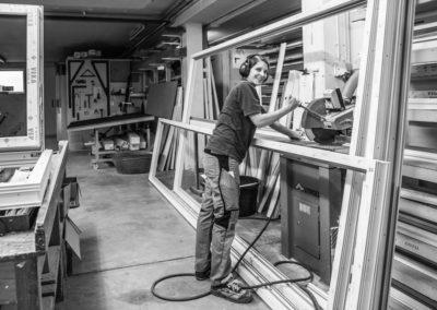 Lena S., Glaserin, Fachrichtung Fensterbau